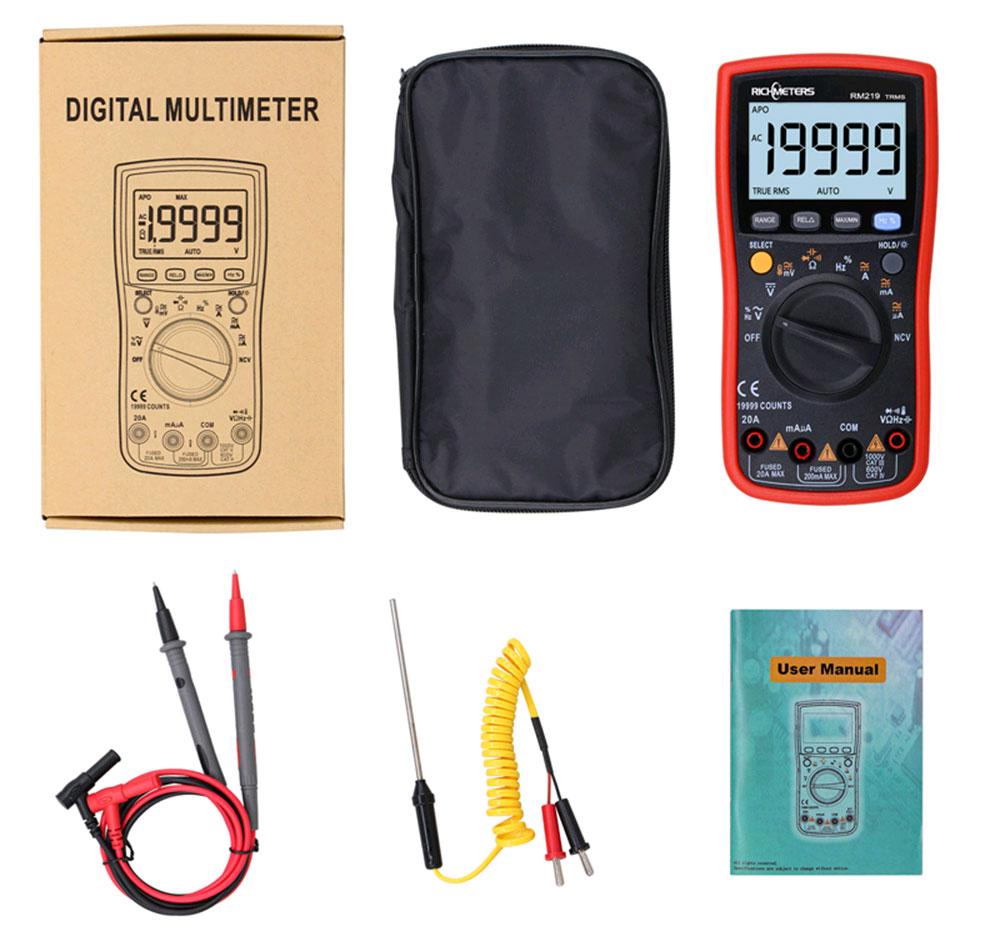 Цифровой мультиметр Richmeters RM219