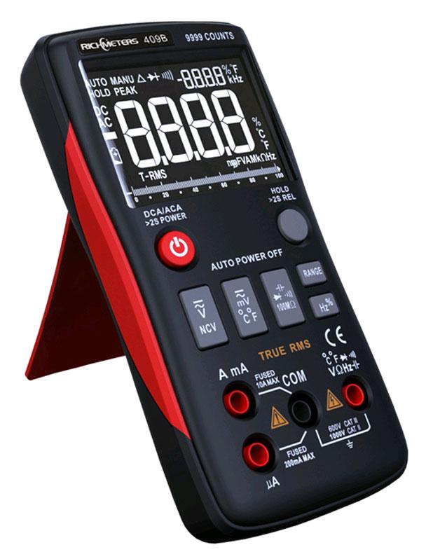 RM409B: внешний вид цифрового мультиметра Richmeters