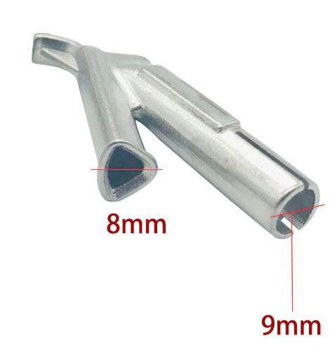 Насадка для пайки пластика пруткомтреугольного сечения, до 8 мм