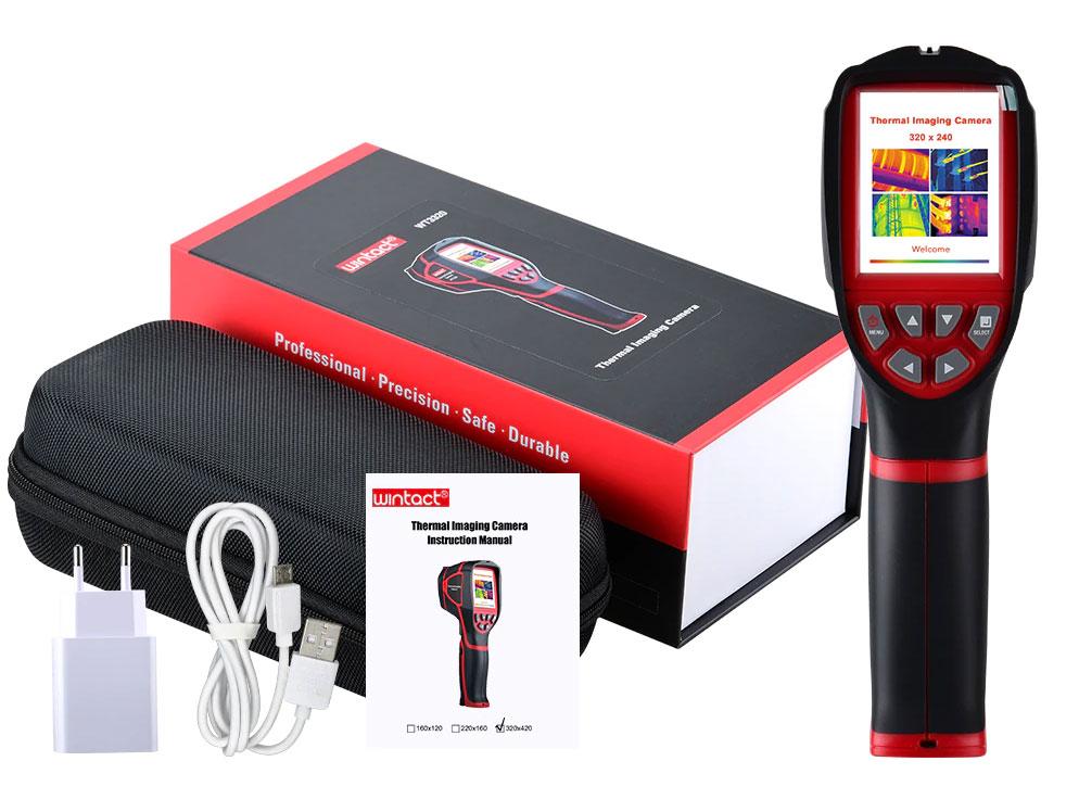 Wintact WT3160 тепловізор для єнергоаудита