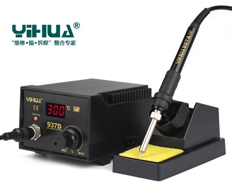 YIHUA 937D паяльная станция, антистатика