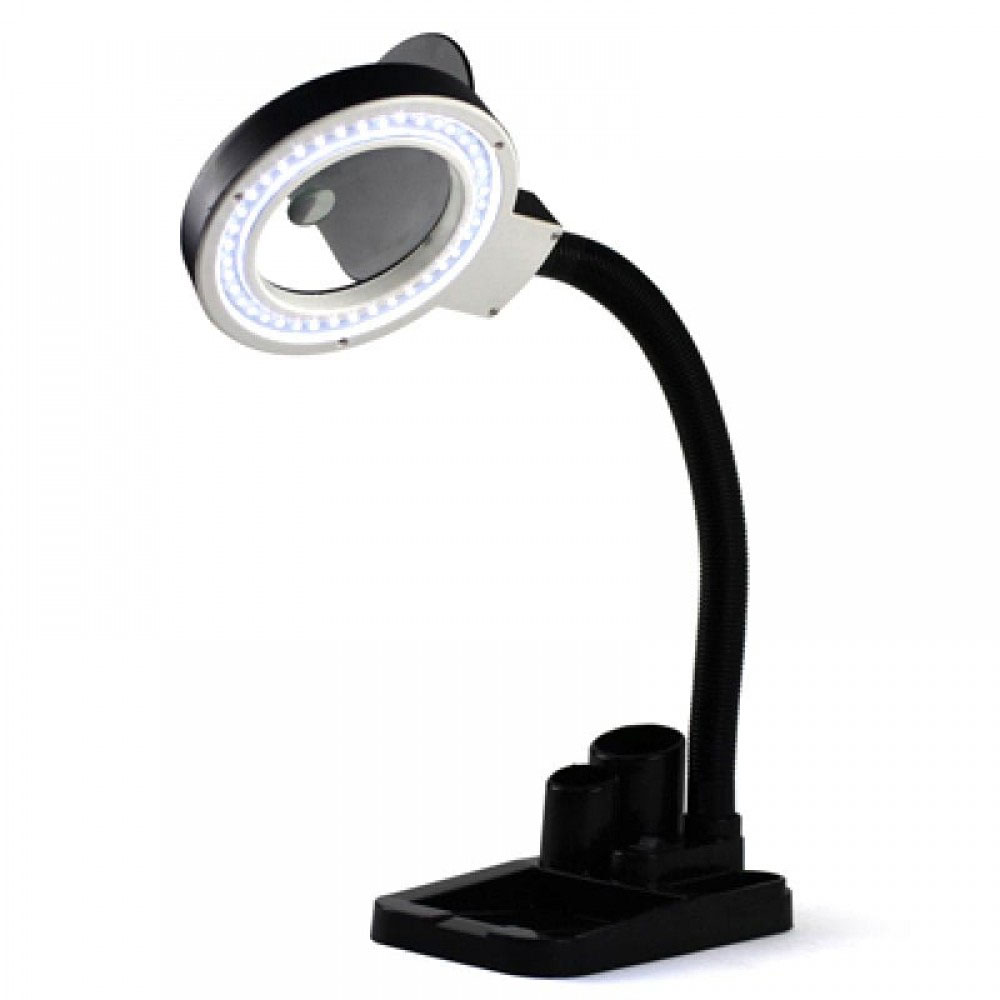 YIHUA-708 лампа-лупа с люминесцентной подсветкой