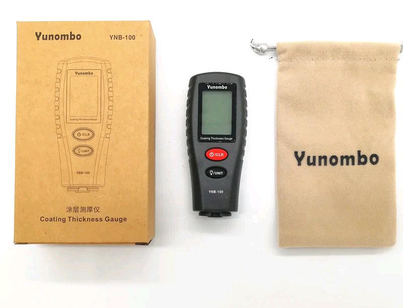 YNB-100  стандартная комплектация толщиномера краски