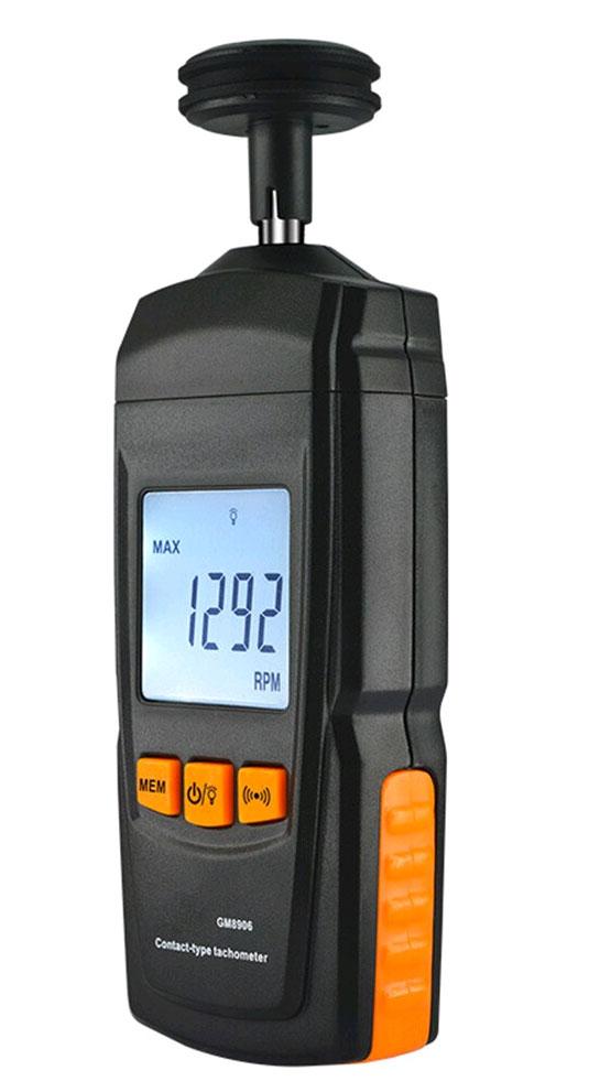 контактные измерения скорости тахометром GM8906
