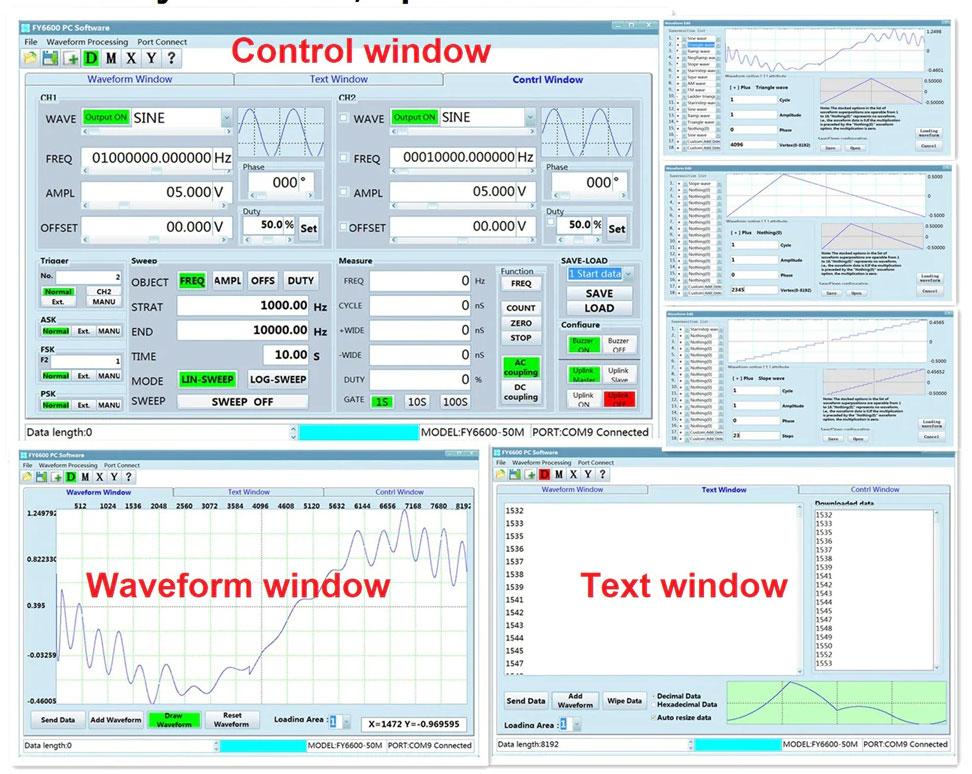 Программное обеспечение генератора JDS6600-40M
