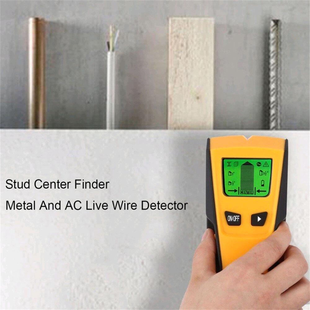 TH210 искатель скрытой проводки, детектор дерева и металла: комплект поставки