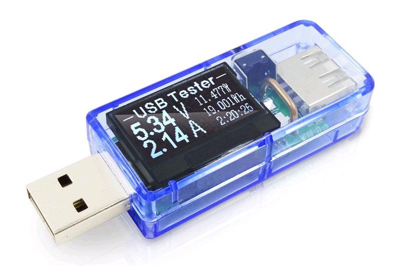 USB-тестер мощности, тестер аккумуляторов