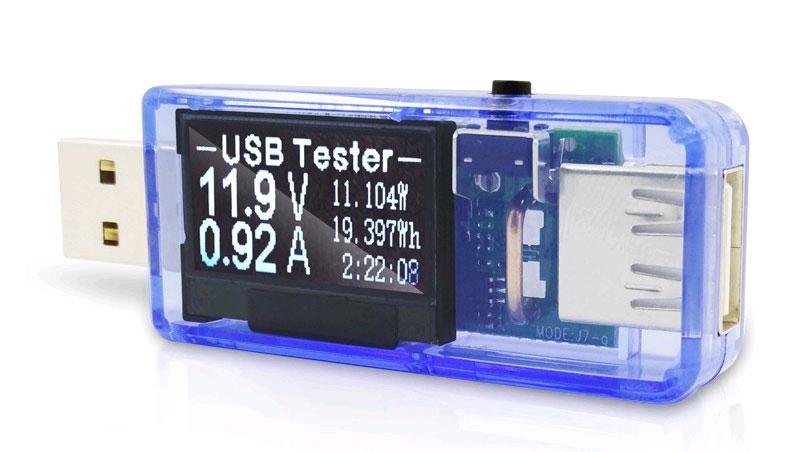 USB-тестер, измеритель мощности