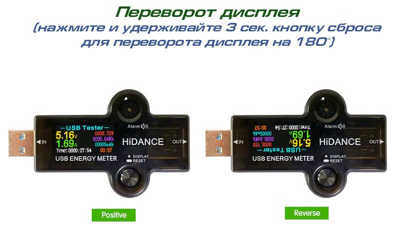 Доступные интерфейсы дисплея для HiDANCE J7H