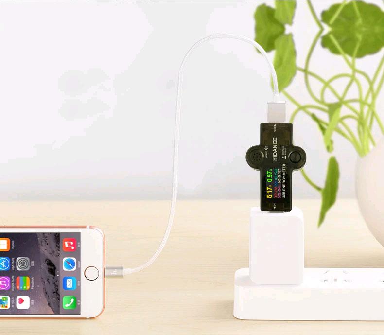 J7-H color, тестер USB, измеритель мощности USB