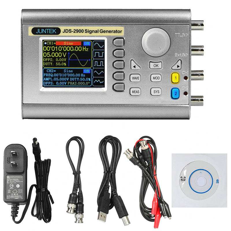 Стандартная комплектация генератора сигналов JDS2900-50M