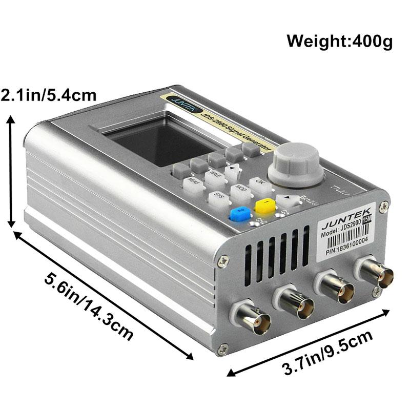 JDS2900-50M габаритные размеры генератора импульсов