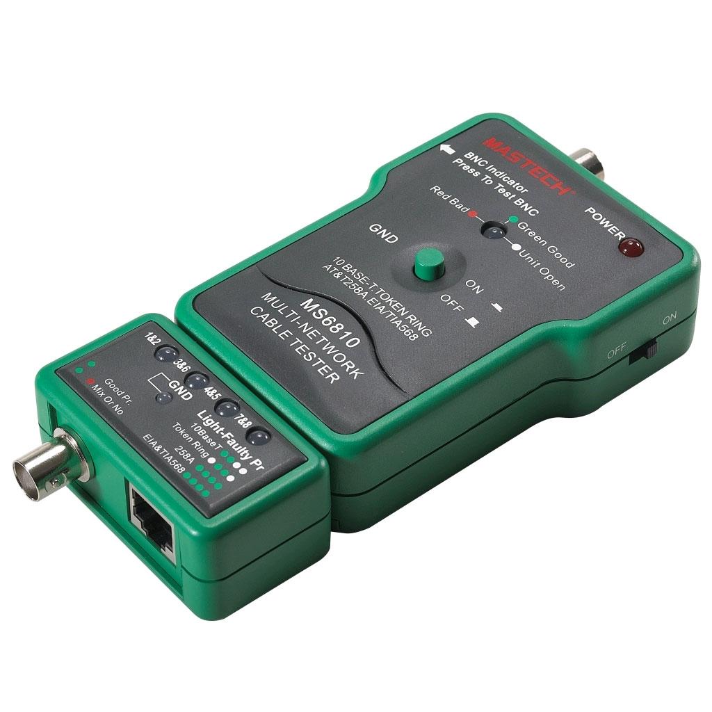 MS6810 - кабельный тестер