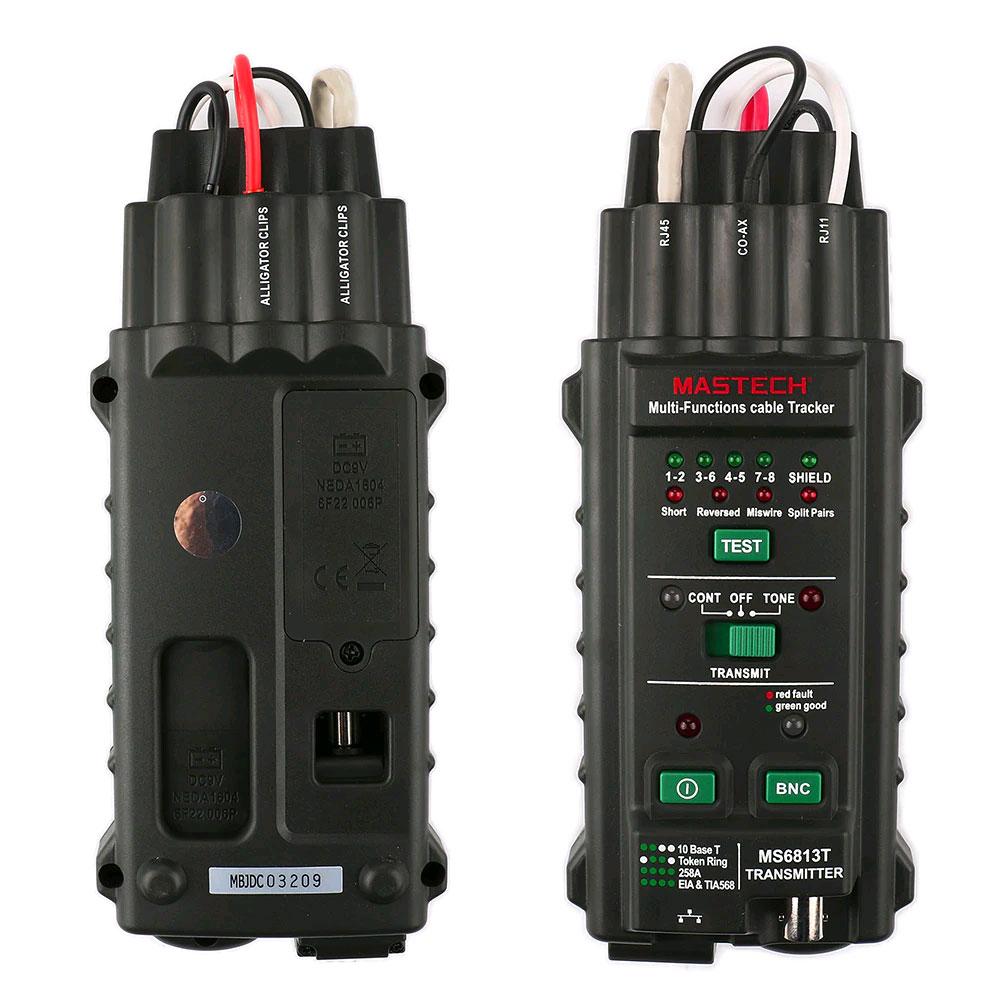 MS6813  стандартная комплектация кабельного тестера