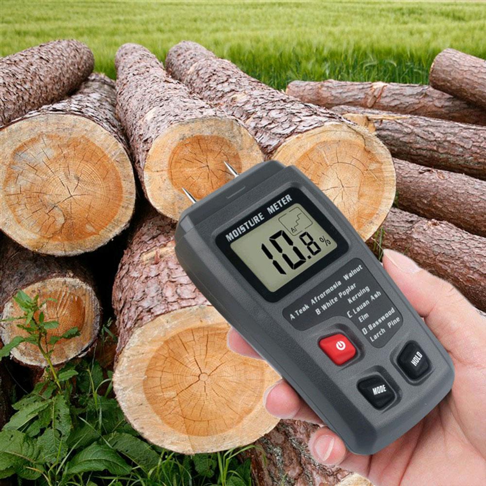 стандартная комплектация влагомера дерева EMT01