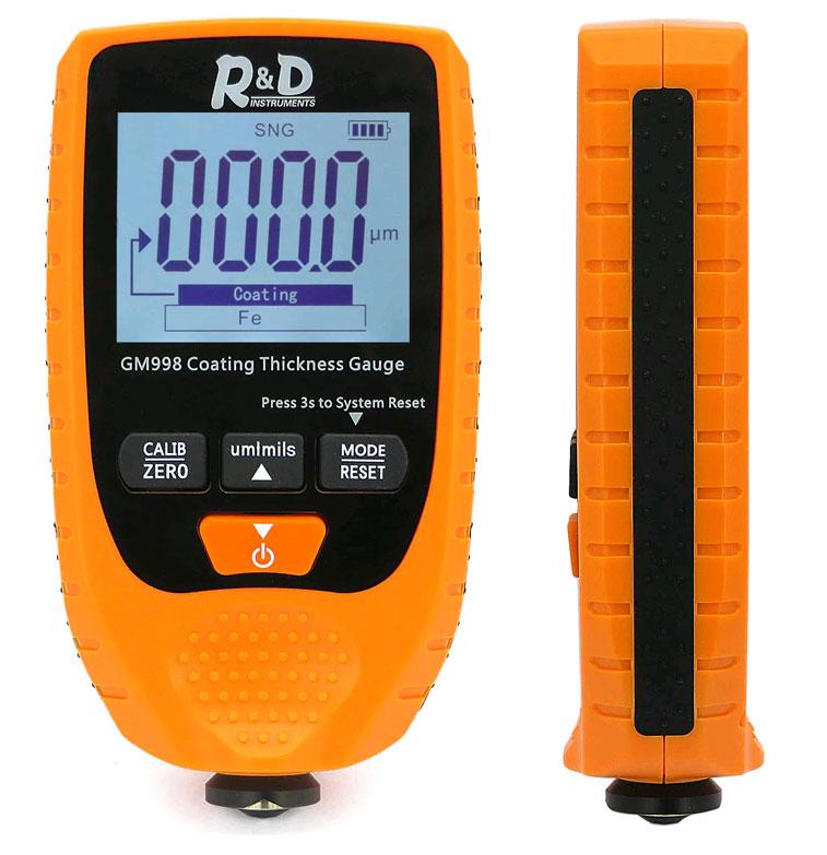 GM998 (orange) тестера краски: удобный в применении и калибровке
