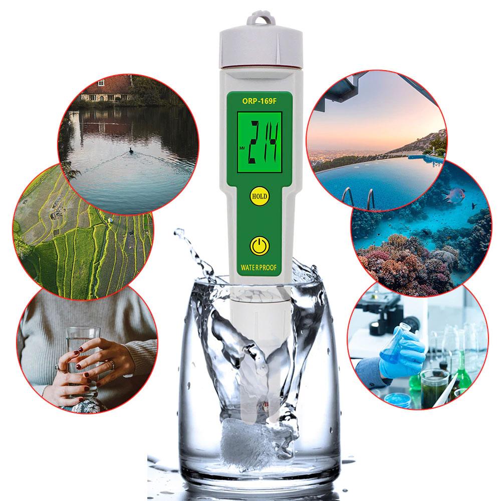ORP169F ОВП-метр,  для определения чистоты воды в бассейне и аквариуме