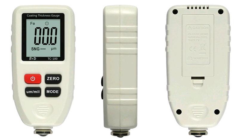 TC100 white тестера краски: удобный в применении и калибровке