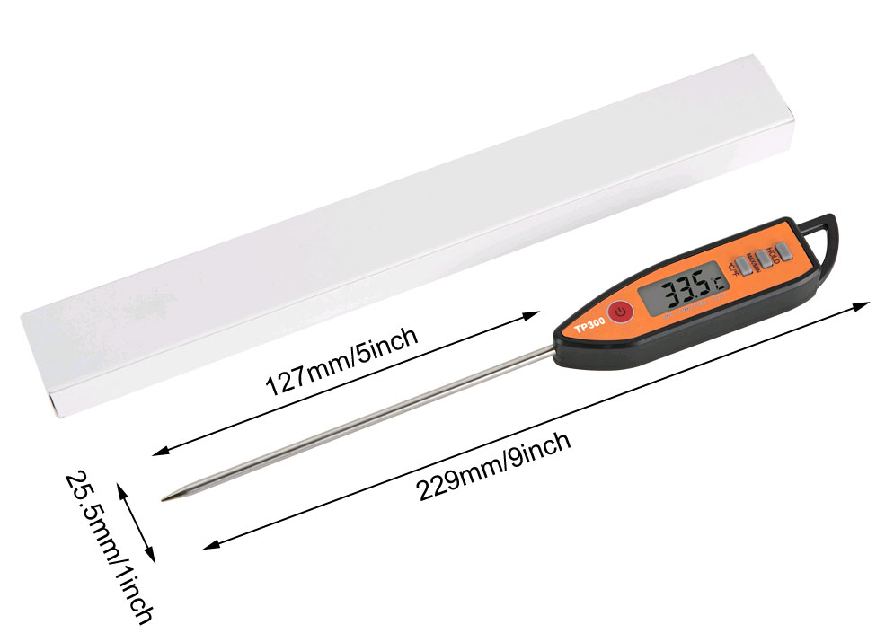 стандартная комплектация термометра TP300