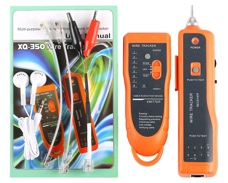 кабельный тестер WT-1 (XQ-350) - стандартная комплектация