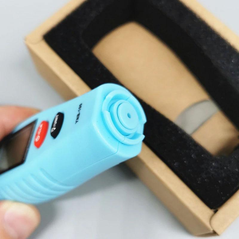YNB-100   (бирюзовий) стандартная комплектация толщиномера краски