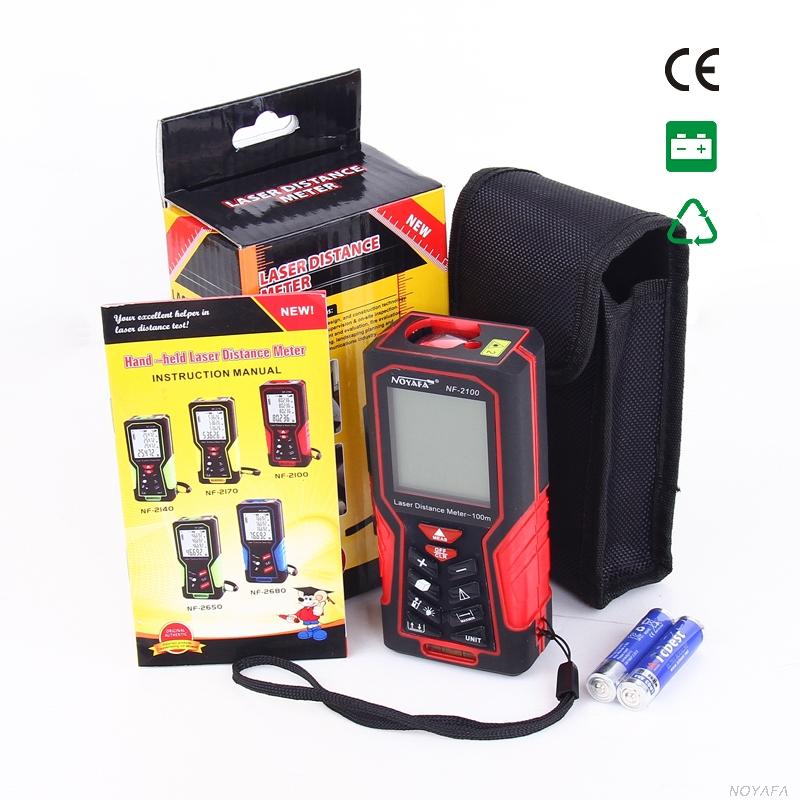 Стандартная комплектация лазерной рулетки Noyafa, NF-2100