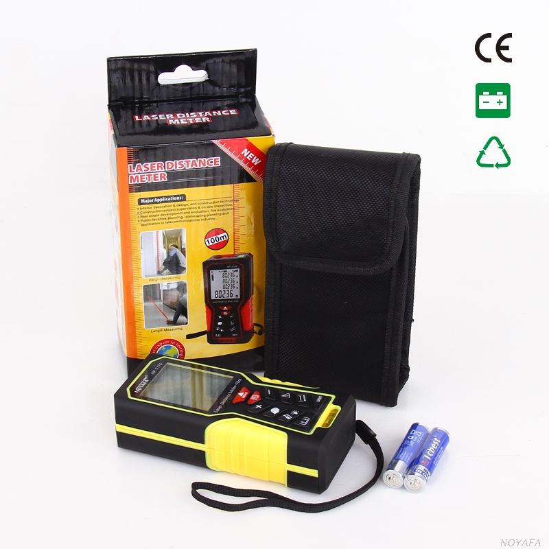 Стандартная комплектация лазерной рулетки Noyafa, NF-2170