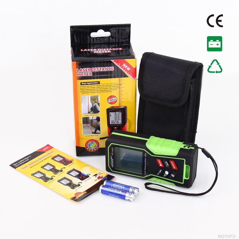 Стандартная комплектация лазерной рулетки Noyafa, NF-2650
