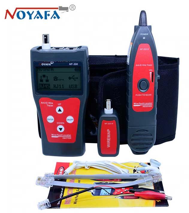 NF300 Noyafa стандартная комплектация кабельного тестера