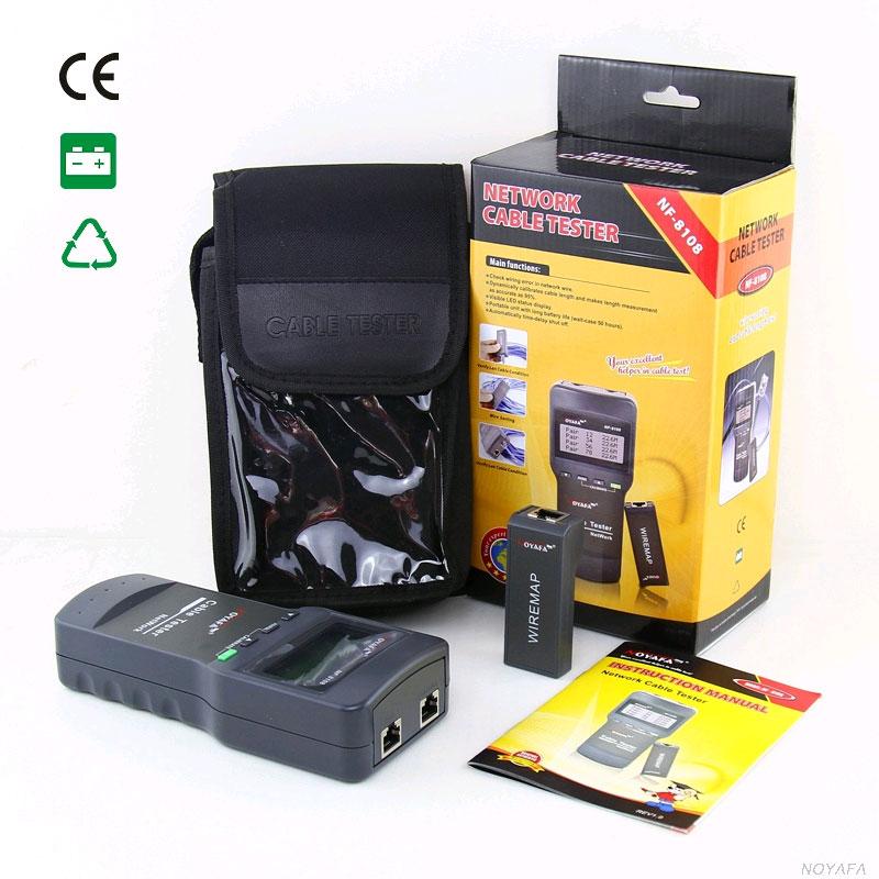 NF8108 Noyafa стандартная комплектация кабельного тестера