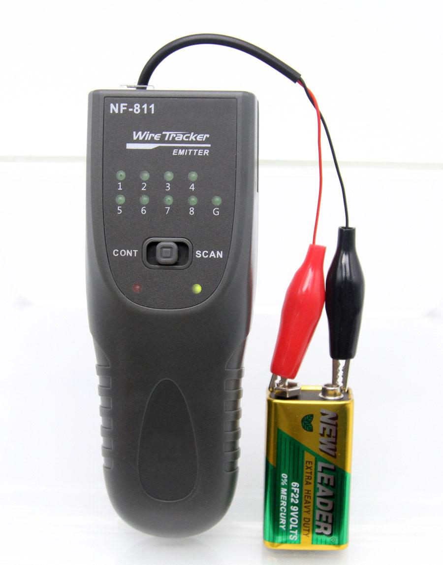 NF811 Noyafa стандартная комплектация кабельного тестера