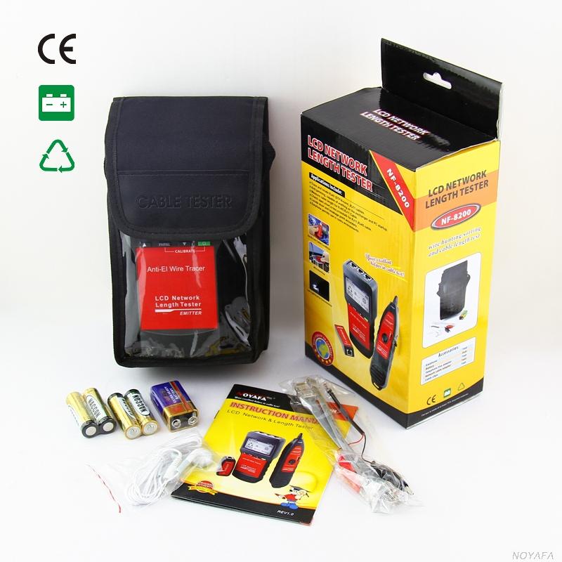NF8200 Noyafa стандартная комплектация кабельного тестера