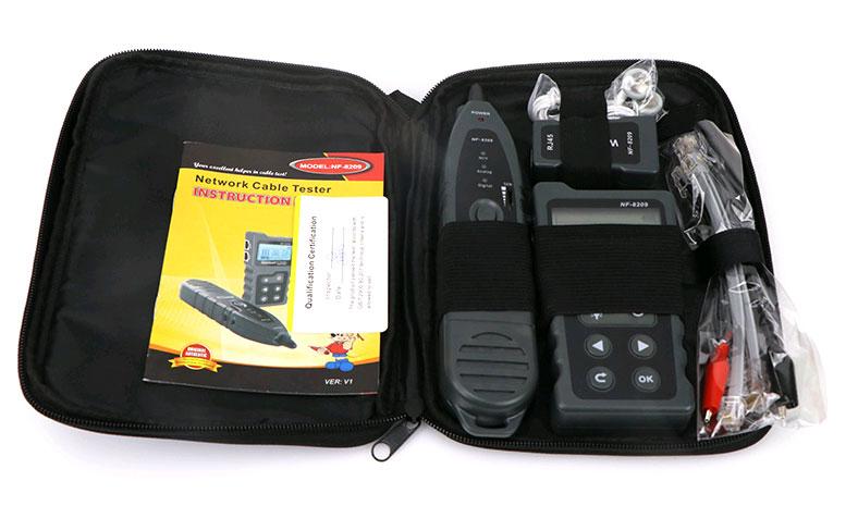 NF8209 Noyafa предназначен для тестирования PoE