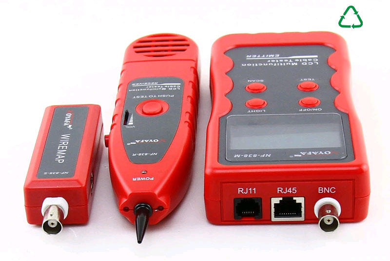 NF838 Noyafa: интерфейсы кабельного тестера