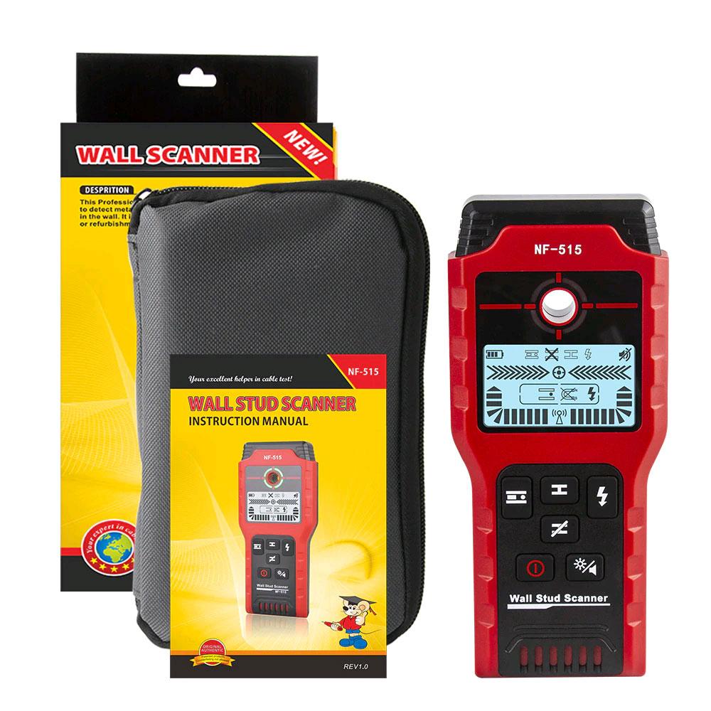 Noyafa NF-515 искатель скрытой проводки, детектор дерева и металла: комплект поставки