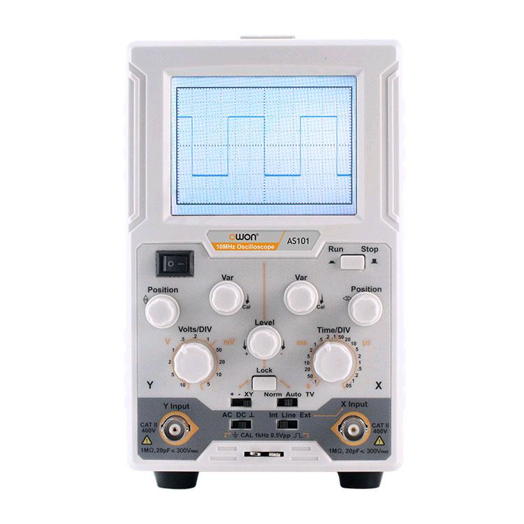 Осциллограф OWON AS-101: самый простой одноканальный осциллограф