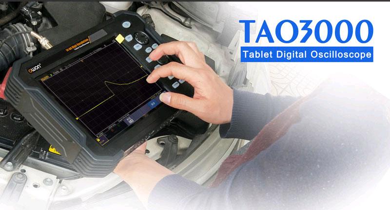 функция усреднения осциллограмм осциллографом TAO3074