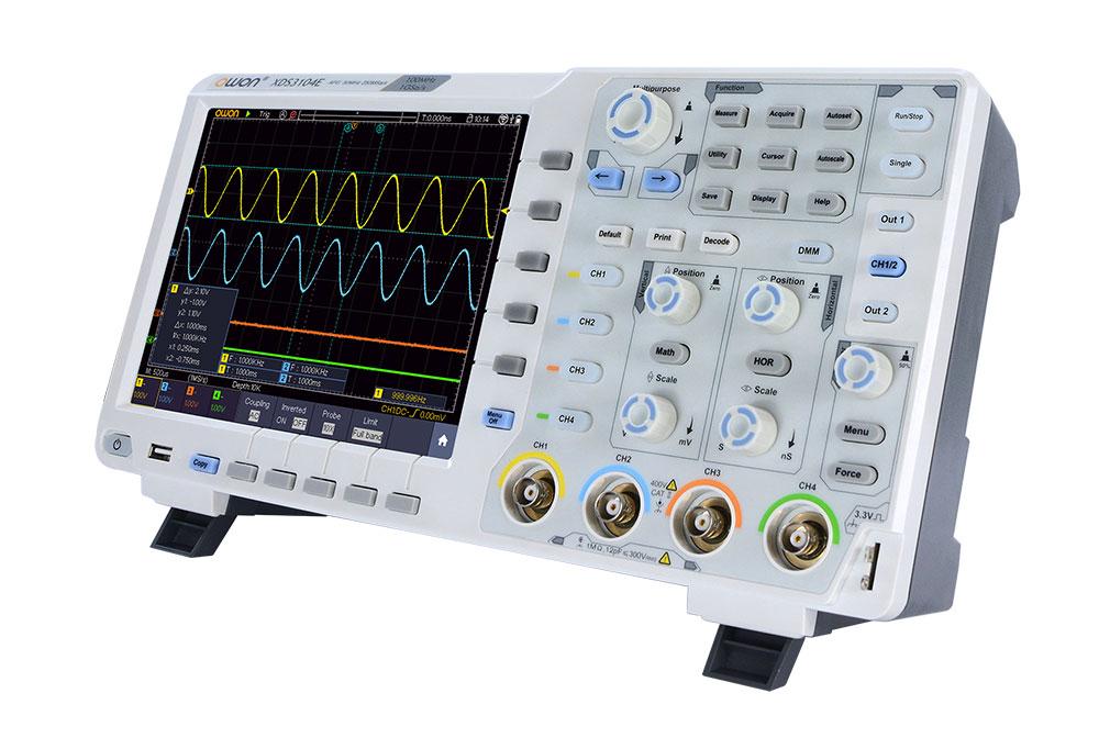 внешний вид осциллографа OWON XDS3064AE