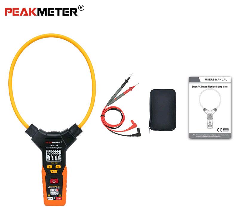 Токоизмерительные клещи PM2019SPeakmeter для измерения больших токов