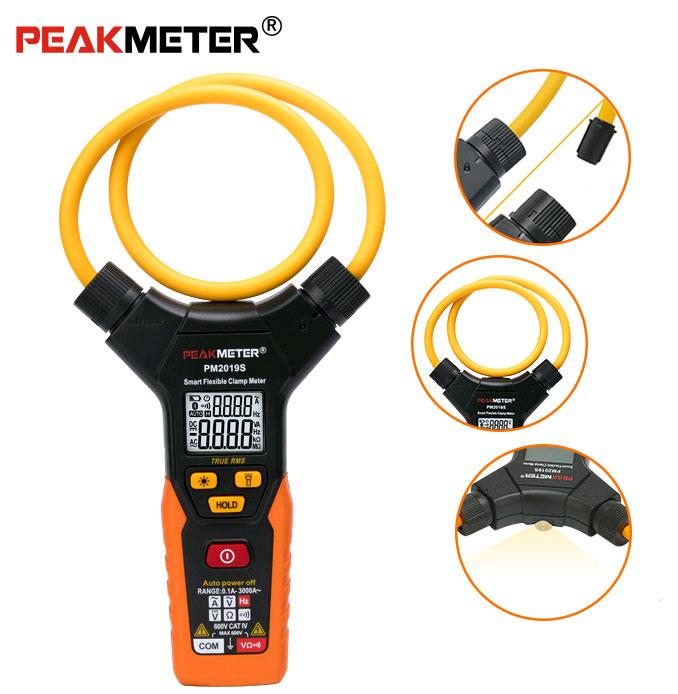 Батарейный отсек токоизмерительных клещей PM2019SPeakmeter включает 3 батарейки 1,5В типа ААА