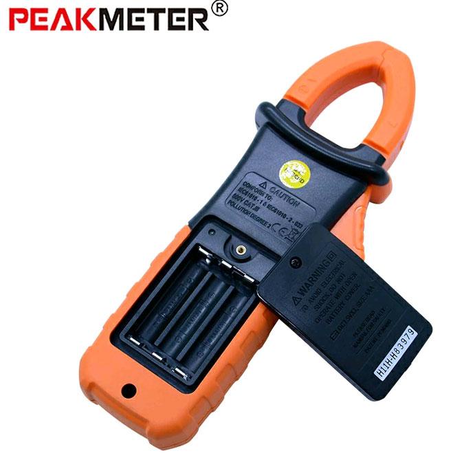 Батарейный отсек токоизмерительных клещей PM2108Peakmeter