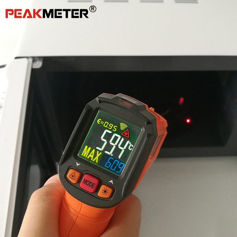 Измерение пирометром PM6519B