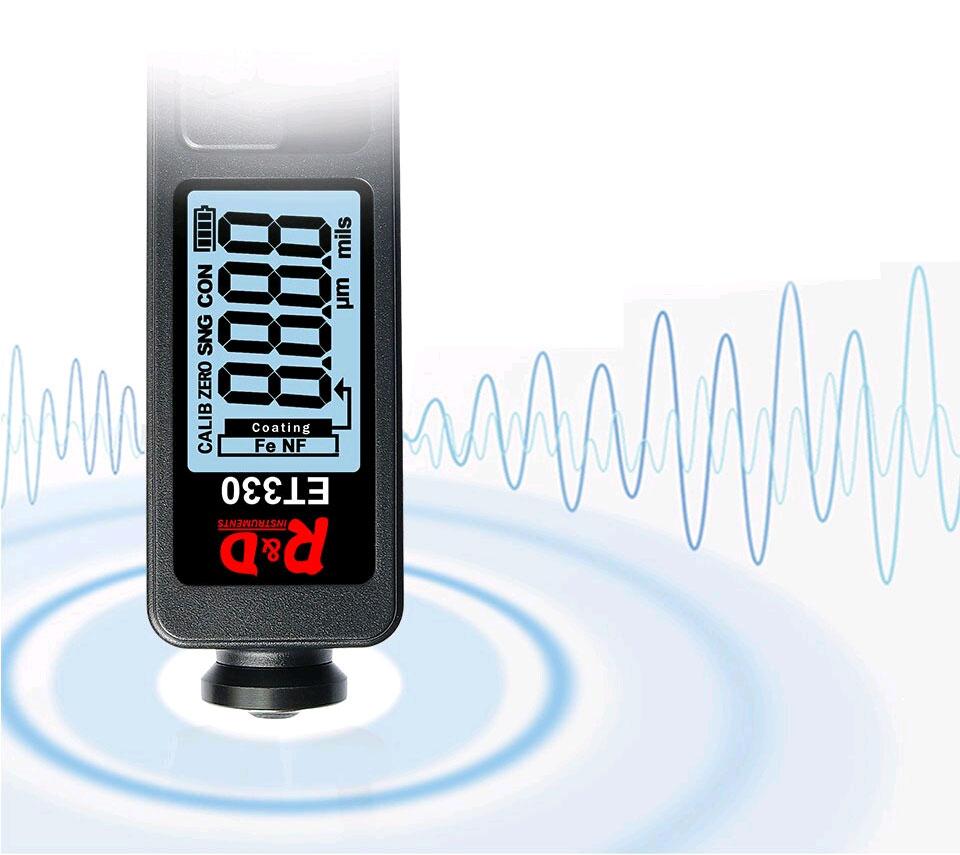ET330 black тестер краски для профессионального использования
