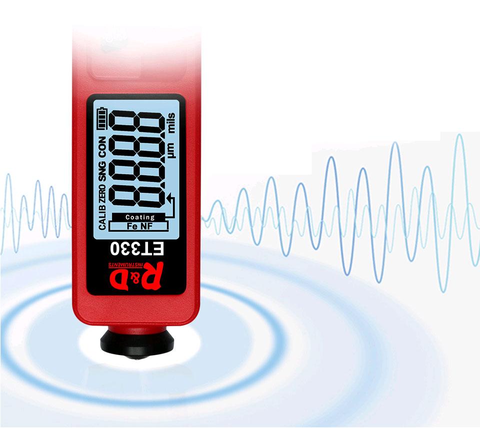 ET330 red тестер краски для профессионального использования