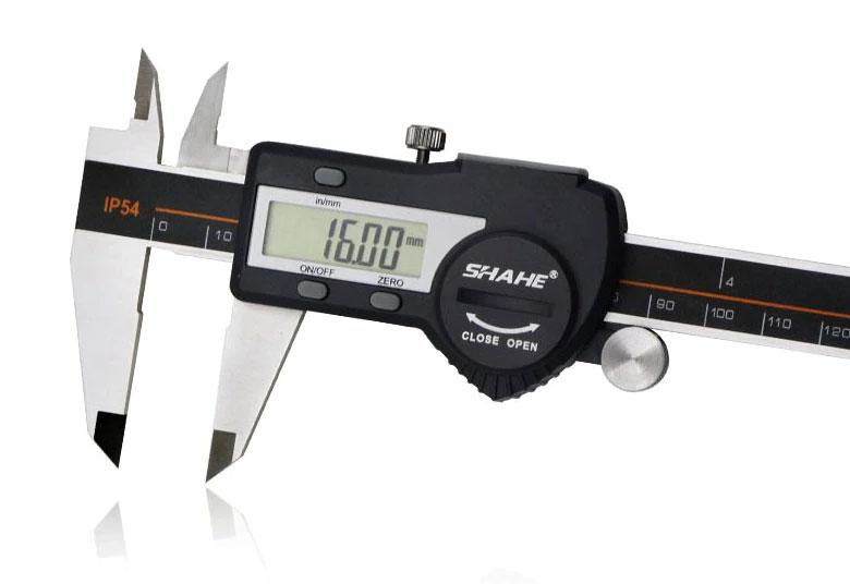Цифровой штангенциркуль SHAHE 5110-300: разрешение: 0,01мм