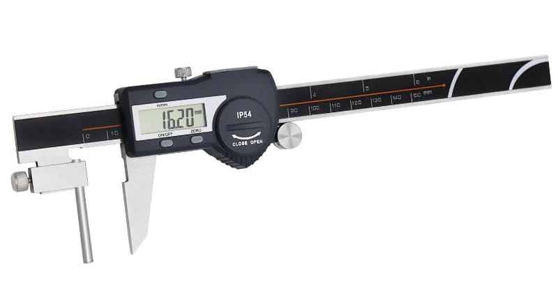 Трубный штангенциркуль SHAHE 5117-150: разрешение 0,01 мм
