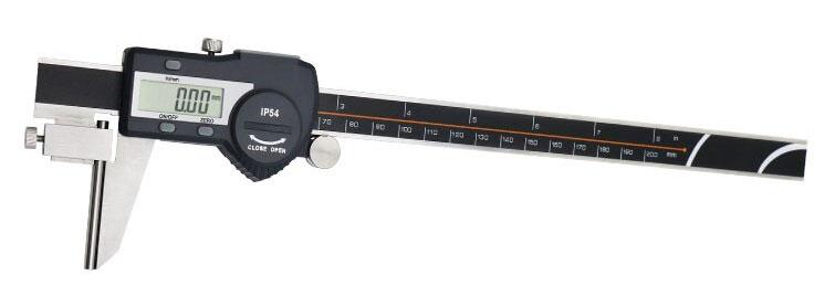 Трубный штангенциркуль SHAHE 5117-200: разрешение 0,01 мм