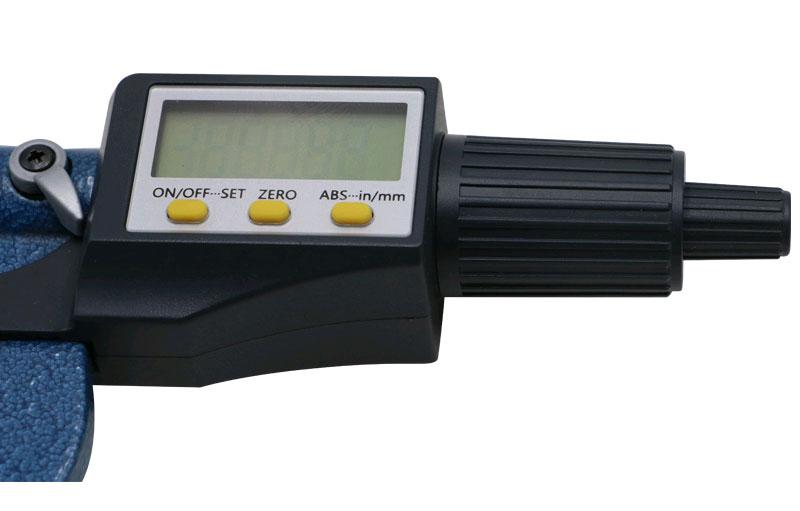 SHAHE 5205-100, цифровой микрометр: разрешение от 0,001 мм