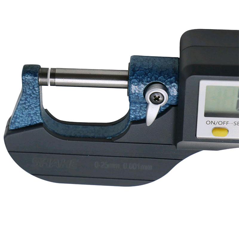 SHAHE 5205-25, цифровой микрометр: диапазон измерений 0-25 мм