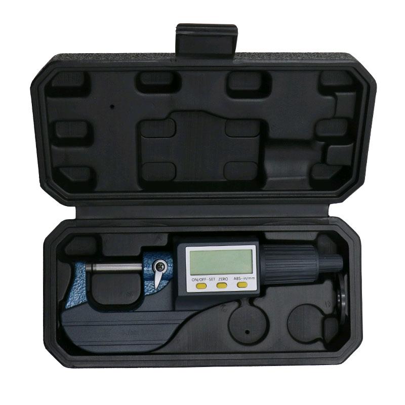 SHAHE 5205-25, цифровой микрометр: разрешение: 0,001 мм